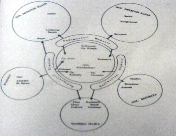 Gambar Klasifikasi Batuan Sedimen Berdasarkan Koesoemadinata (1981)