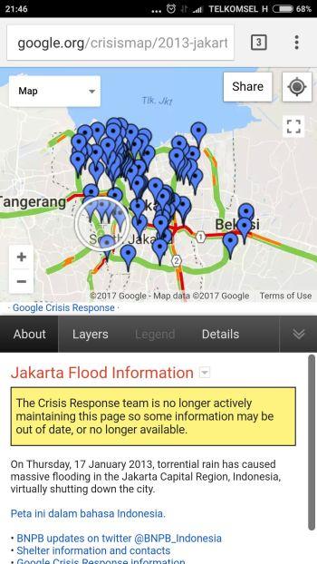 tampilan google crisis map pada handphone: http://google.org/crisismap/weather_and_events