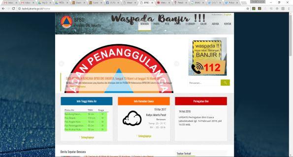 homepage bpbd.jakarta.go.id